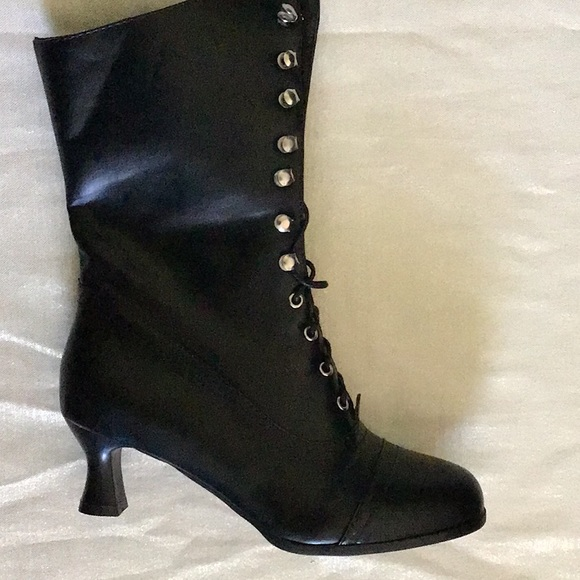 victorian witch boots